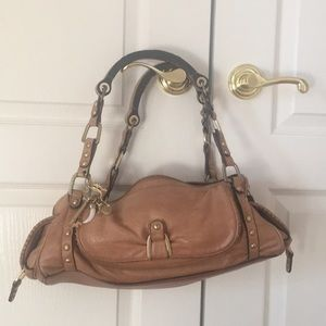 Juicy Couture original tan leather handbag